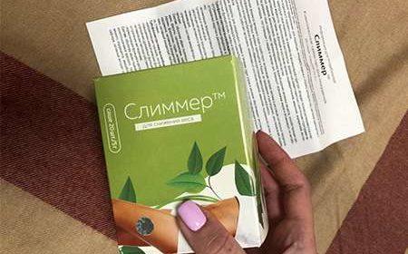 Упаковка и инструкция к Слиммеру