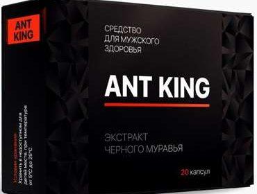 Упаковка на 20 капсул средства Ant King.
